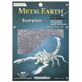 Scorpion Metal Earth 3D Model Kit